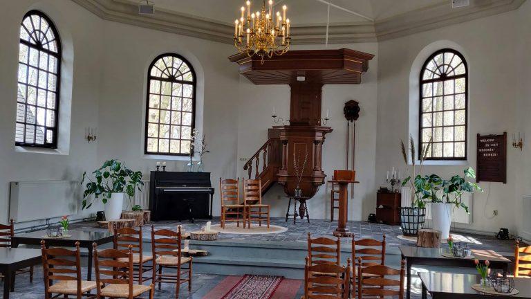 De kerkzaal